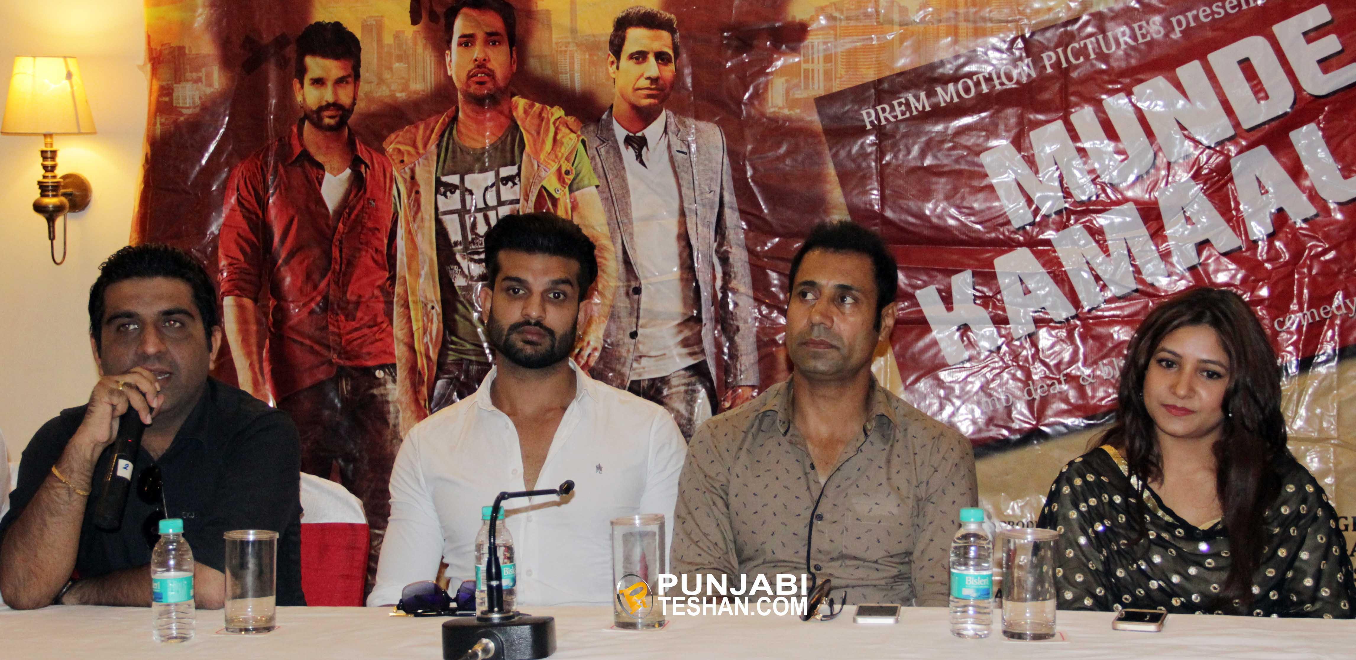 munde kamaal de punjabi movie cast