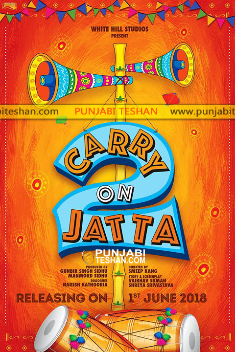 Carry On Jatta 2 Releasing 1st June 2018