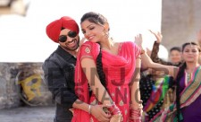 Monica Gill Punjabi Actress With Diljit Dosanjh