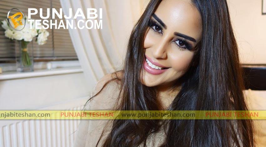 British- Asian model Bishamber Das