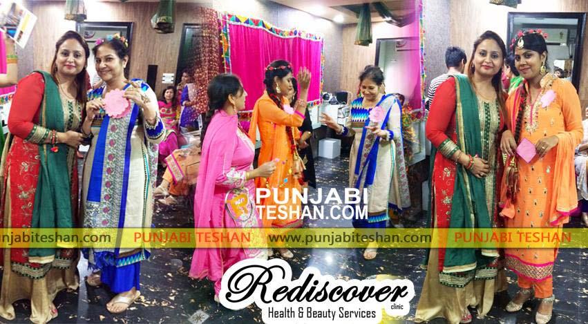 Rediscover Clinic Organized A Teej Festival