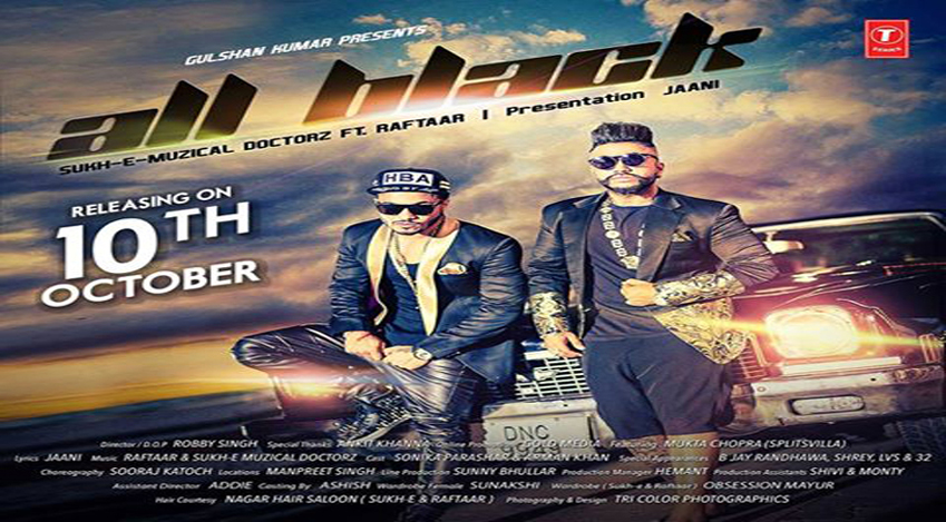 All black full | remix | sukhe | honey singh | raftaar | new.